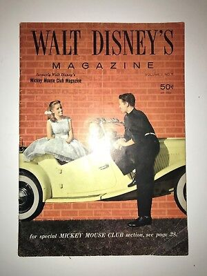 1957 Walt Disney's Magazine Volume II and III