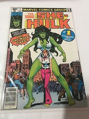Marvel Comics She-Hulk #1 1st Appearance VF (+/-)