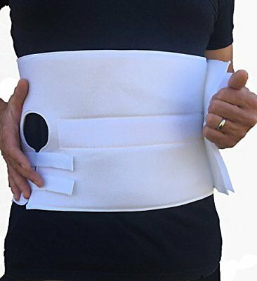 Stoma Support Ostomy Hernia Belt for Colostomy Bag Abdominal Binder with Stoma O