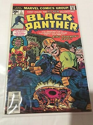 Marvel Comics Black Panther #1 Solo Title 1977 F/VF