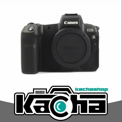 NUEVO Canon EOS R Mirrorless Digital Camera Body with Mount Adapter EF-EOS R