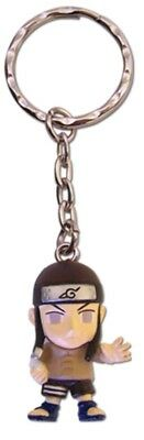Naruto Neji Keychain Key Chain 3D Chibi Toy Anime Manga Official Licensed New