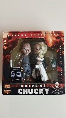 Deluxe Boxed Set Bride Of Chucky Movie Maniacs 2