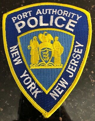 """New York / New Jersey Port Authority Police (3.75"""" x 4.5) shoulder patch New"""