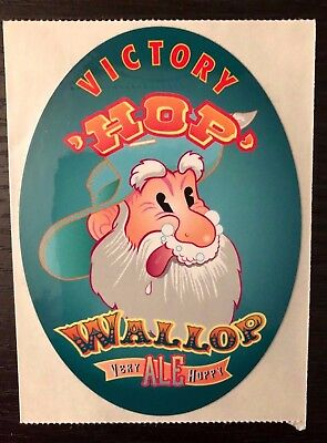 Hop Wallop Tap Sticker Victory Brewing Co Downingtown Pa Craft Beer