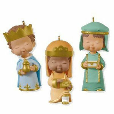 Hallmark ~ Gifts We Bring - Mary's Angels Three Kings - KOC Limited Edition