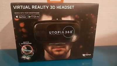 ReTrak Utopia 360 Virtual Reality 3D Headset, new