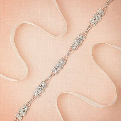 Crystal Bridal Belt Rhinestone Bridal Sash Wedding Belt Bridesmaid Belt Sash