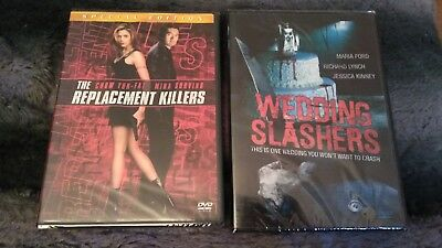 The Replacement Killers & Wedding Slashers Lot Brand New Sealed