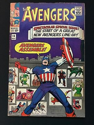 The Avengers #16 (May 1965, Marvel)