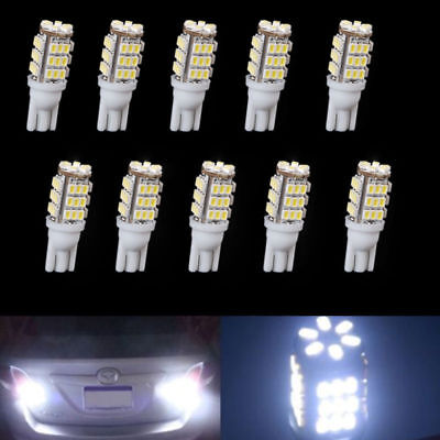 10X T10 Cool White Car 42-smd Backup Reverse LED Light Bulb 921 912 906 168 W5W