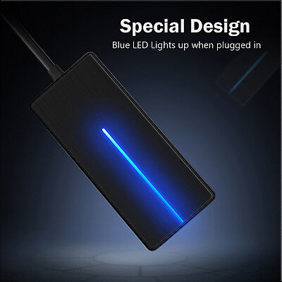 4-Port Type C USB 3.0 Data Hub Transfer up  Super Speed  to 5 Gbps For PC Mac