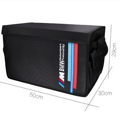 Collapsible Organizer Boot Trunk Multi Storage Tool Box Bag For BMW M Motorsport