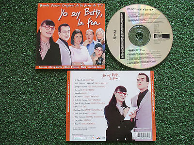 YO SOY BETTY, LA FEA (Ugly Betty) VERY RARE & SCARCE CD Soundtrack SUSANNA OV7