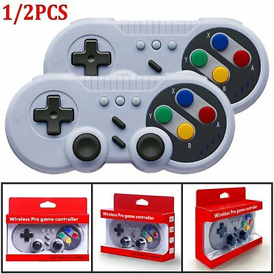 For Nintendo Switch Wireless Bluetooth Pro Controller Gamepad + Charging Cable