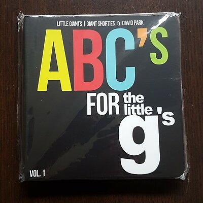 Abc's for The Little G's Buch Kinderbuch Sneakerhead Nike Yeezy Adidas Vans NEU