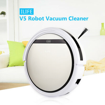 ILIFE V5 Smart Aspirateur Cleaning Robot Sol Cleaner Auto Vacuum Aspirateur EU