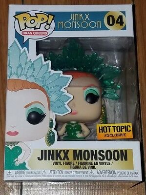 Funko Pop Drag Queens #04 Jinkx Monsoon Hot Topic Exclusive In Hand
