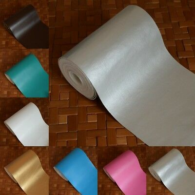 Faux Leatherette Leather Cloth Car Bag Craft Material Fabric Upholstery Decor
