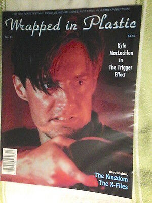 WOW 'WRAPPED in PLASTIC' magazine #25 Oct '96 /MacLachlan TP FEST  /TWIN PEAKS