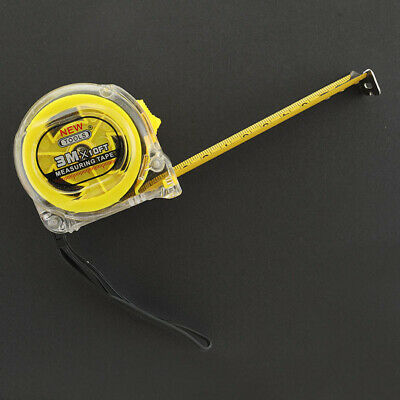 3M, 5M Measuring Tape Retractable Stainless Steel Heavy Duty DIY Auto Lock Ruler