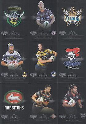 2018 NRL Elite Series Parallel Cards- Pick your Player