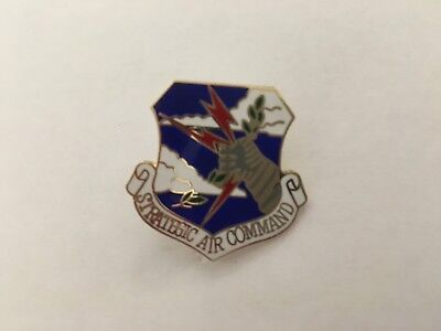 Usaf Strategic Air Command Hat/lapel Pin