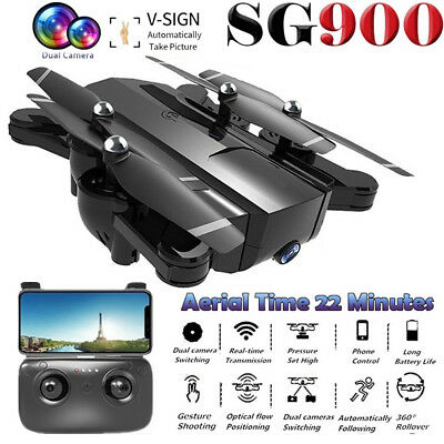 SG900 RC Drone With HD Camera Altitude Hold Headless Mode 2.4G RC Quadcopter UH