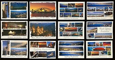 Sydney Australia great Postcard set x 12.