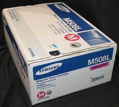 New Genuine Samsung M508L Toner Cartridge (Magenta, Large Yield)