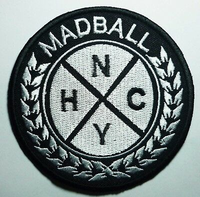 MADBALL embroidered patch Sick of it all terror Gorilla Biscuits Hardcore