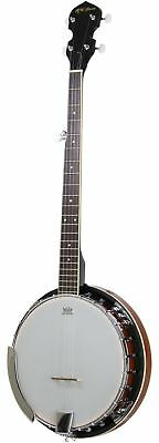 5-String Banjo 24 Bracket with Closed Solid Back and Geared 5th Tuner By Jame...