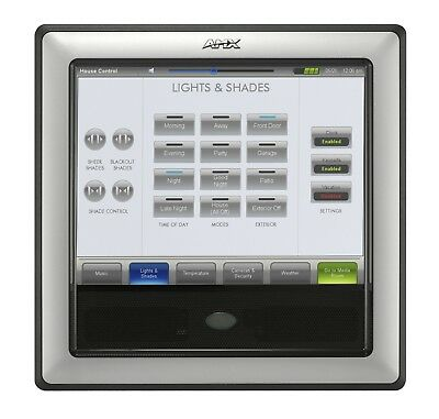 """AMX 12"""" Modero Video Wall/Flush Mount Touch Panel NXD-1200V"""