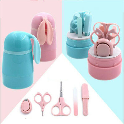 Infant Baby Kids Grooming Nail Care Clippers Set With Scissors Tweezers Tool N7