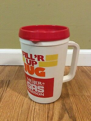 Aladdin Meijer Fill'r Up Jug Insulated Double Wall Travel Mug 34 oz