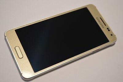 Samsung Galaxy Alpha SM-G850F - 32GB - Frosted Gold (Unlocked) Smartphone