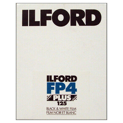 Ilford FP4 Plus 125 Black & White 5x4 Large Format Film