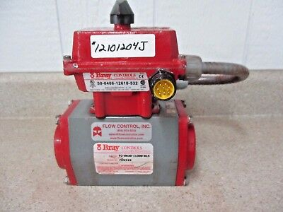 Bray 92-0830-11300-015 Control Actuator 140 Psi, #12101204J Used