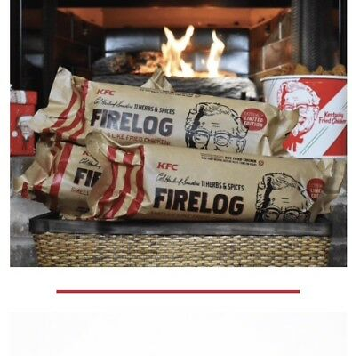 KFC 11 Herbs & Spices FIrelog By Envirolog, Pre-Sale SOLD OUT
