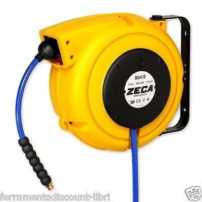 ZECA HOSE REEL WINDER winder AUTOMATIC FOR COMPRESSED AIR water at