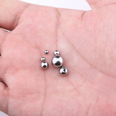 1,2MM Thread 3MM 4MM 5MM 6MM Piercing Replacement BALLS Spare Stainless Steel
