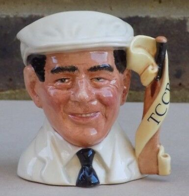 ROYAL DOULTON Small Character Jug - Dickie Bird D7068