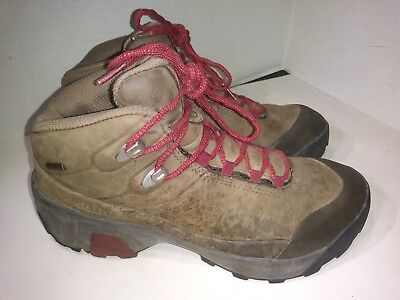 c9024c66 Patagonia Hiking Boots P26 Mid Gore Tex T80504 henna brown/cranbe Womens Sz  8