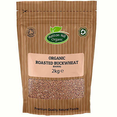 Organic Roasted Buckwheat (Kasha) Certified Organic