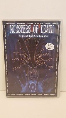 "*****DVD-VARIOUS ARTISTS""MONSTERS OF DEATH""-2005 Nuclear Blast DoDVD*****"