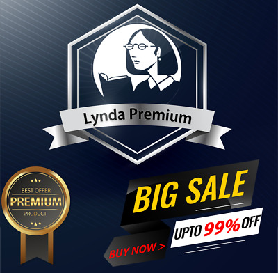 Lynda Premium Account Lifetime Access All Courses Full Support | 100% Private