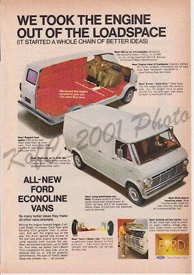 61 -'67 FORD Econoline Pickup Tin Sign in Process Blue