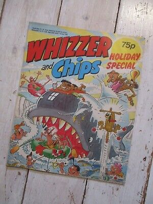 Whizzer And Chips Holiday Special Comic 1989