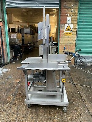 commercial meat saw,hobart band saw,bandsaw,butchers equipment,mincer