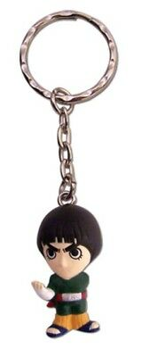 Naruto Rock Lee Keychain Key Chain 3D Chibi Toy Anime Manga Official License New